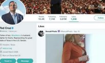 Ted Cruz's Twitter Account 'Likes' Porn Video, The Nation Pounces