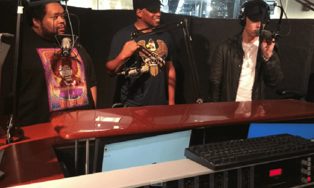 Eminem Kills An 8 Minute Freestyle On The Sway Show