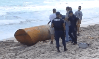 Strange Submarine Like Vessel Found On Florida Beach