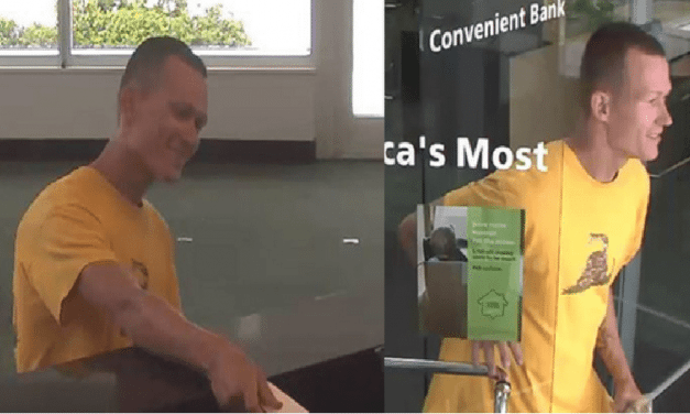 Man Robs Bank In Florida With The Biggest Smile On His Face