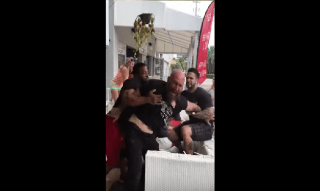 Biker Dude Gets Choked Out By Security At Blondies Bar On Fort Lauderdale Beach