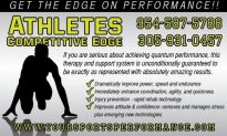Athletes Competitive Edge