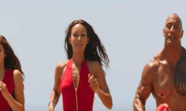 """Baywatch"" The Movie Starring The Rock"