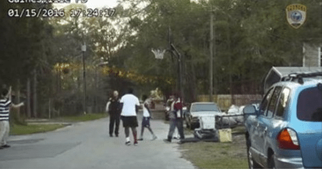 Bobby White 'Officer' Plays Basketball With Kids