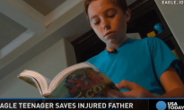 Boyscout Hikes 13 Miles To Help Save His Injured Dad