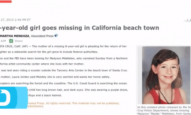 Madyson Middleton Goes Missing In California Beach Town