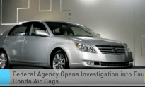 Federal Agency Opens Investigation Into Faulty Honda Air Bags