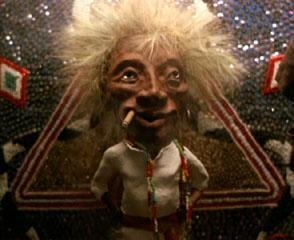 Yesterday Golden Voice Man, Ted Williams, Looked Like Jobu.  Now I Think He looks More Like Someone Else…