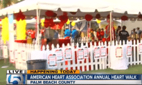 Palm Beach Heart Walk Happening In Downtown West Palm Beach