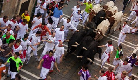 American Hipster Keeps Running With The Bulls In Spain, Keeps Getting Gored