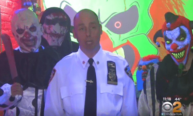 NYPD Station Turned Into A Haunted House