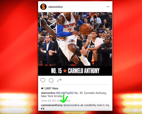 SLAM Magazine Ranks Carmelo Anthony – And He's Not Happy