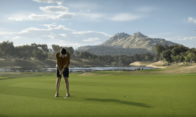 Hitting The Green's In The Golf Club 2