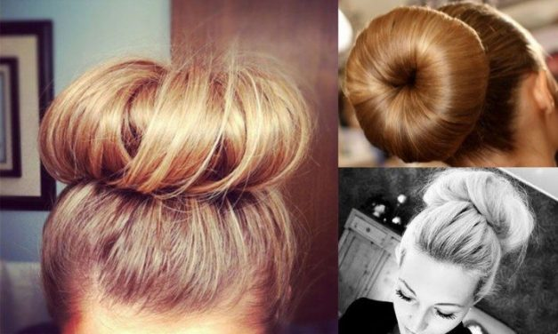Simple & Classy – The Sock Bun