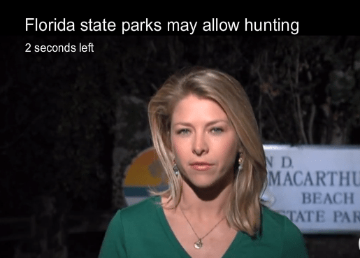 Florida State Parks Are Being Reviewed For Hunting